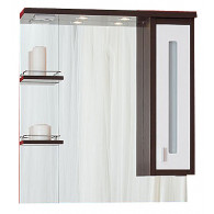 Зеркало-шкаф Бриклаер Бали 75 R