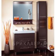 Мебель для ванной Бриклаер Чили 80 венге