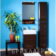Мебель для ванной Бриклаер Чили 55 венге