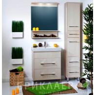 Мебель для ванной Бриклаер Чили 70 светлая лиственница