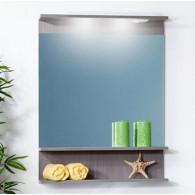Зеркало для ванной Бриклаер Чили/Куба 70 серая лиственница