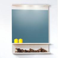 Зеркало для ванной Бриклаер Чили/Куба 70 светлая лиственница