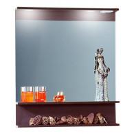 Зеркало для ванной Бриклаер Чили 80 венге