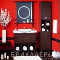 Мебель для ванной Бриклаер Хоккайдо 90 венге
