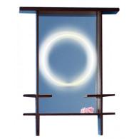 Зеркало для ванной Бриклаер Хоккайдо 75 венге