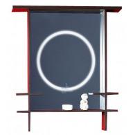 Зеркало для ванной Бриклаер Хоккайдо 90 венге