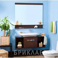 Мебель для ванной Бриклаер Куба 120