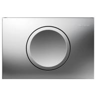 Кнопка слива инсталляций Geberit Delta 11 115.120.46.1 хром матовый