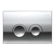 Кнопка слива инсталляций Geberit Delta 21 115.125.21.1 хром