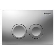 Кнопка слива инсталляций Geberit Delta 21 115.125.46.1 хром матовый