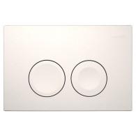 Кнопка слива инсталляций Geberit Delta 21 115.125.11.1 белая