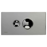 Кнопка слива инсталляций Viega Visign for Style 10 596347 хром матовый