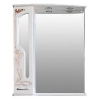 Зеркало-шкаф Атолл Барселона 75 белый с медью
