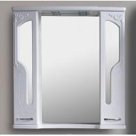 Зеркало-шкаф Атолл Барселона 90 белый