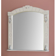 Зеркало для ванной Атолл Александрия 85 айвори