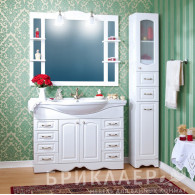 Мебель для ванной Бриклаер Анна 120 белая