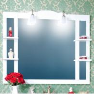 Зеркало для ванной Бриклаер Анна 120 белое