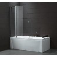 Шторка на ванну Cezares ECO-V-11-120/140-C-Cr