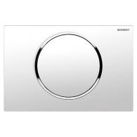 Кнопка слива инсталляций Geberit Sigma 10 115.758.KJ.5 белая