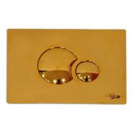 Кнопка слива инсталляций Sanit S706 16.706.88 золото