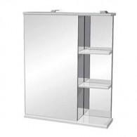 Зеркало-шкаф Runo Магнолия 60 белый